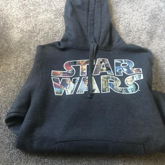 Star Wars Hoodie Grey
